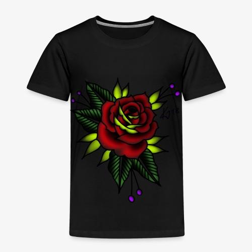 Traditional rose - Kids' Premium T-Shirt