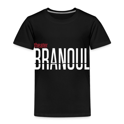 Branoul Logo rood wit - Kinderen Premium T-shirt