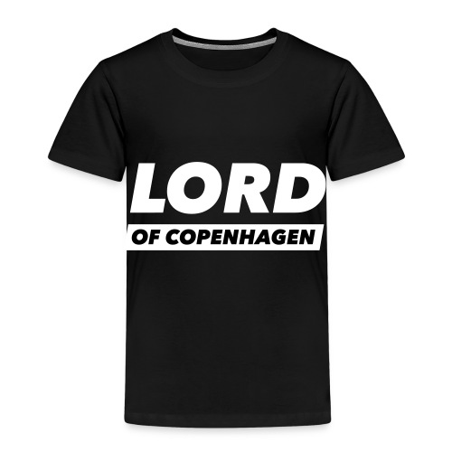 LORD of Copenhagen - Logo - Børne premium T-shirt