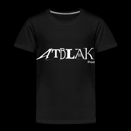 ATBLAK blanc grand - T-shirt Premium Enfant