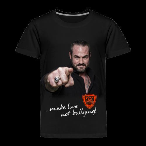 Carsten Stahl - Make Love Not Bullying! - Kinder Premium T-Shirt