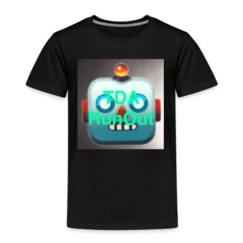 RoboRun V2 - Premium T-skjorte for barn