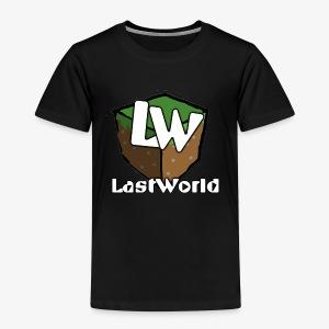Logo LastWorld Transparent - T-shirt Premium Enfant