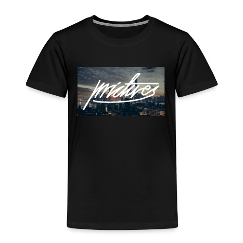 Skyline at night logo large - Kinder Premium T-Shirt
