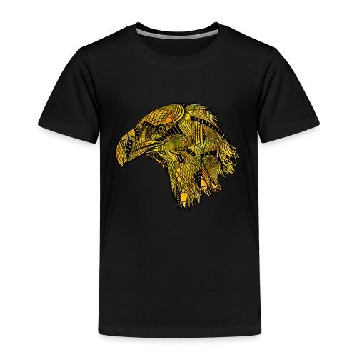 Gul ørn - Premium T-skjorte for barn