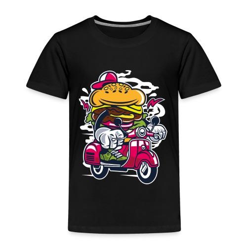 Burger Roller - Kinder Premium T-Shirt
