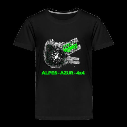 logo ALPES-AZUR-4X4 - T-shirt Premium Enfant