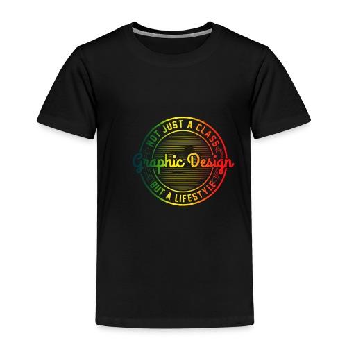 Graphic Design Farbverlauf - Kinder Premium T-Shirt