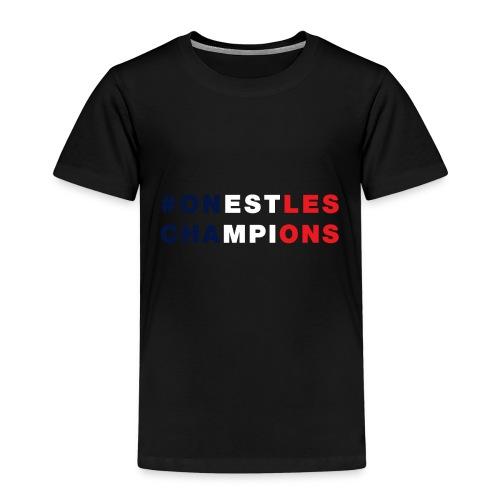 France - On est les champions - 1998 - 2018 - Foot - T-shirt Premium Enfant