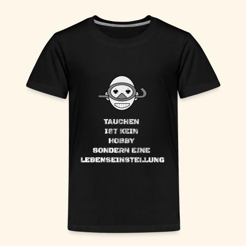 TAUCHEN T-Shirt Pullover Hoodie - Kinder Premium T-Shirt