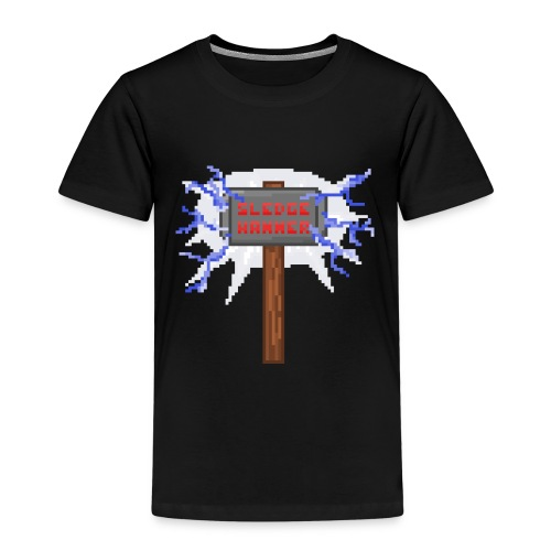 Sledge hammer Pixel - Premium-T-shirt barn
