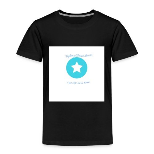 Fighting chronic illnesses one step at a time - Kids' Premium T-Shirt