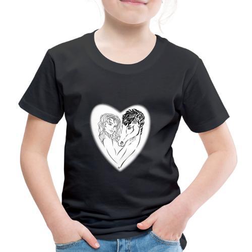 cavalière cheval passion ❤❤ FS - T-shirt Premium Enfant