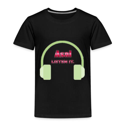 Asal Listen it. - Design - Kinder Premium T-Shirt