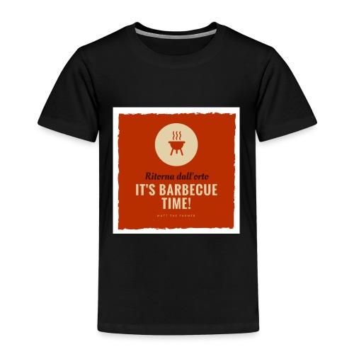 Solo una cosa può farti tornare dall'orto... - Maglietta Premium per bambini