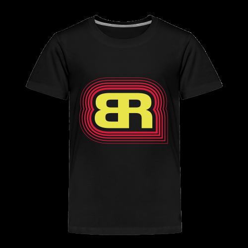 Logo Rot/Gelb - Kinder Premium T-Shirt