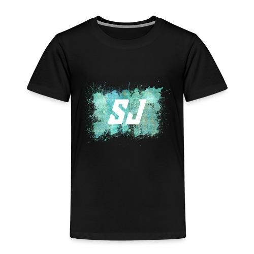SJ Coloursplash - Premium T-skjorte for barn