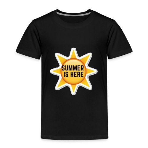 Official Summer Is Here Branded Merchandise! - Kids' Premium T-Shirt