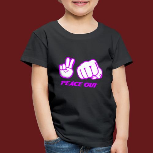 Peace Out - Premium-T-shirt barn