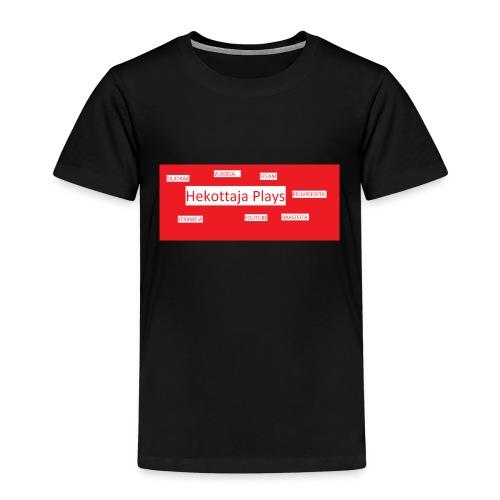 Hekottaja Plays - Lasten premium t-paita