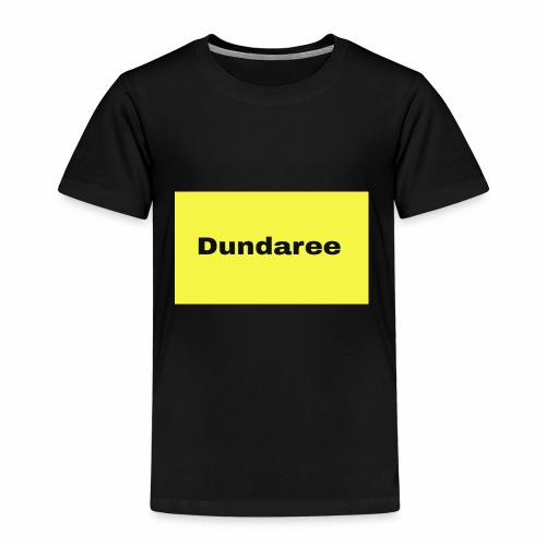 yellow & black dundaree gear - Kids' Premium T-Shirt