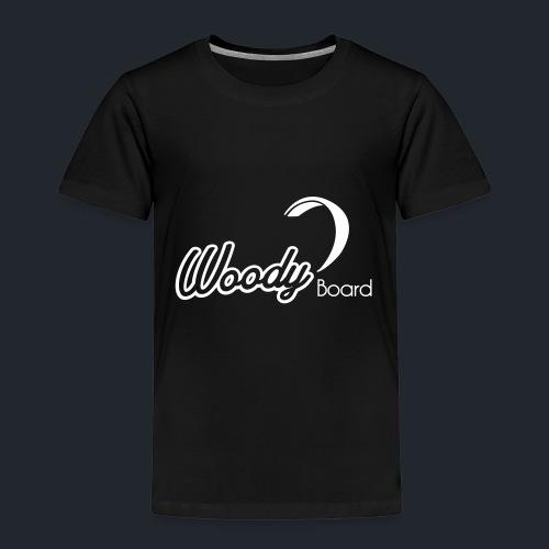 Logo Woodyboard Blanc - T-shirt Premium Enfant