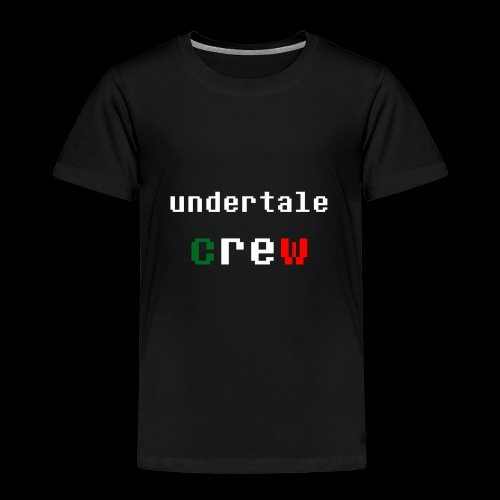 Collezione 3 Undertale Crew - Maglietta Premium per bambini