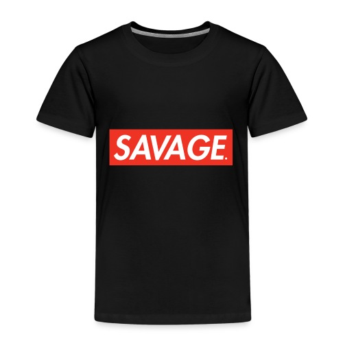 Savage. RedBox - Premium T-skjorte for barn