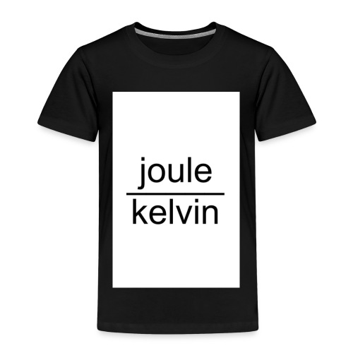 J/K unità di misura dell'ENTROPIA - Maglietta Premium per bambini