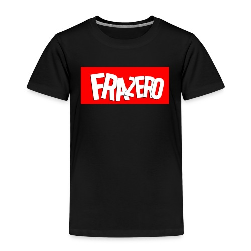 FRAZERO RED BOX DESIGN - Kids' Premium T-Shirt