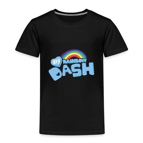 Rainbow Dash Logo neu - Kinder Premium T-Shirt