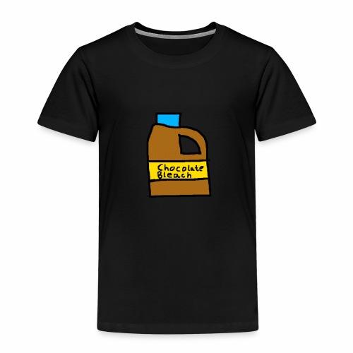 Chocolate Bleach Handrawn - Kids' Premium T-Shirt