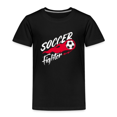 Soccer Fighter - Fußball Kämpfer - Kinder Premium T-Shirt