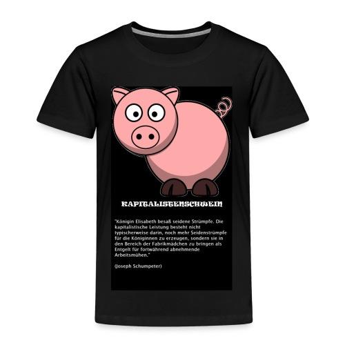 Kapitalismus Schwein - Kinder Premium T-Shirt