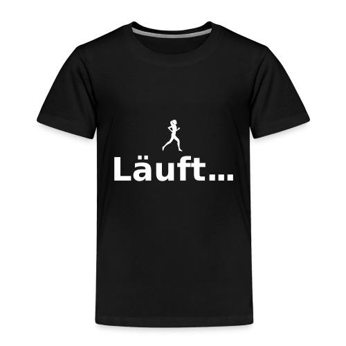 Läuft ... - Kinder Premium T-Shirt