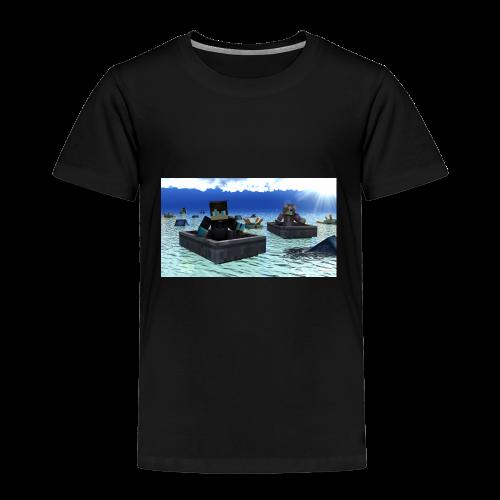 mit freundin auf der see - Kinder Premium T-Shirt