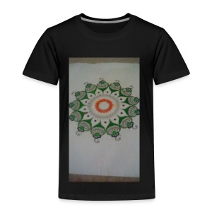 Freehand pattern by josef - Kids' Premium T-Shirt