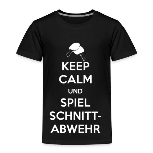 Tischtennis Schnittabwehr - Kinder Premium T-Shirt