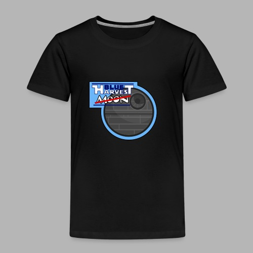Blue Harvest Moon - Design - Kinder Premium T-Shirt