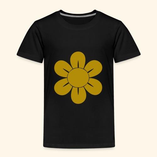 Retro Blomst - Børne premium T-shirt