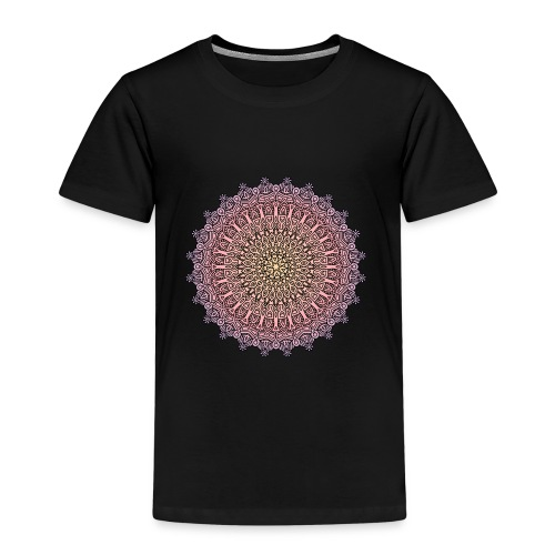 Mandala Sonnenuntergang - Kinder Premium T-Shirt
