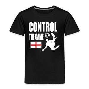 England control the game Russia 2018 - Kids' Premium T-Shirt