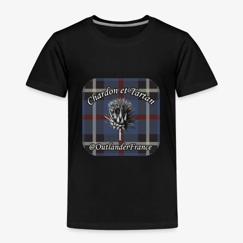 Chardon et Tartan vector logo high res - T-shirt Premium Enfant