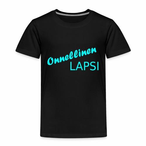 Onnellinen Lapsi - Lasten premium t-paita
