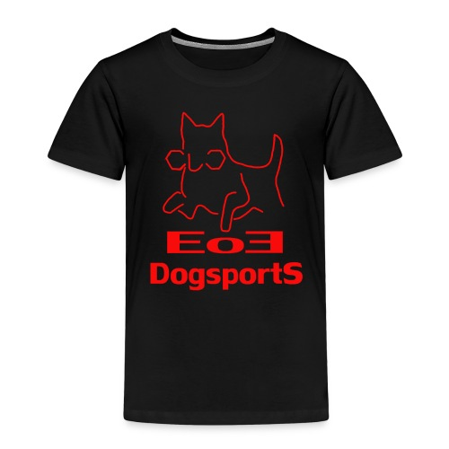 EoE Logo in rot - Kinder Premium T-Shirt