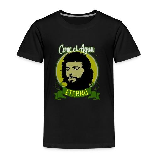 DISEÑO CAMARON COMO EL AGUA - Camiseta premium niño
