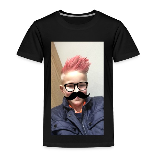 Mustach - Premium-T-shirt barn