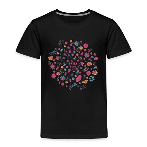 isha flowers circle - Kinder Premium T-Shirt