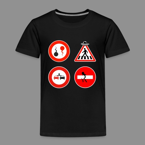 Panneaux Routiers - T-shirt Premium Enfant