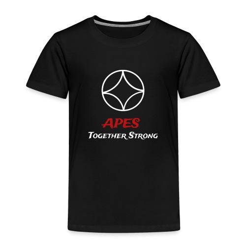 Apes together strong // Affen gemeinsam stark 5 - Kinder Premium T-Shirt